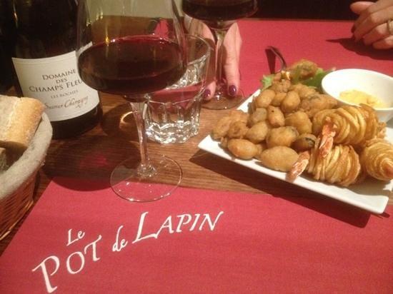 Сомюр, Франция: notre diner