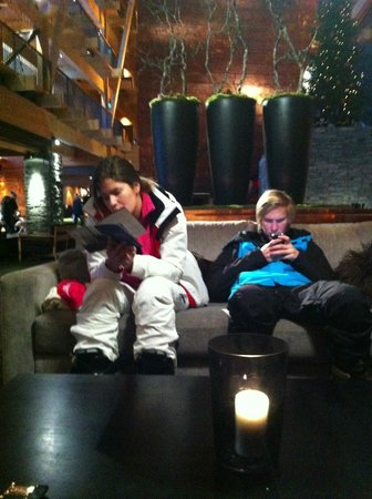 Copperhill Mountain Lodge: Middag afterski