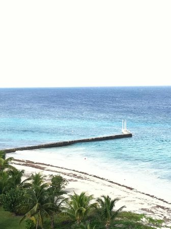 Melia Vacation Cozumel Golf - All Inclusive: Breaker wall for great snorkeling at the hotel