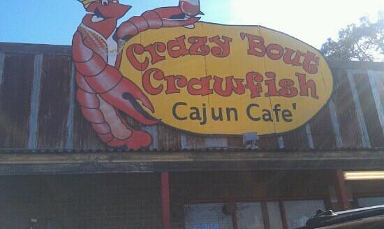 Crazy Bout Crawfish Cajun Cafe : Signage