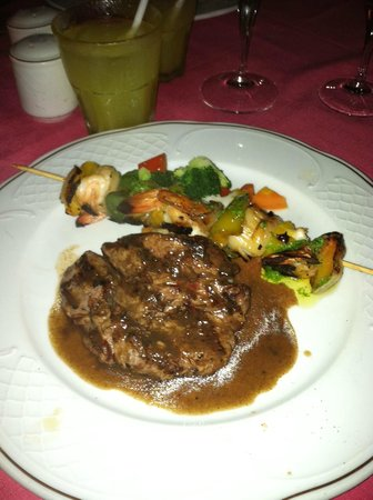 Melia Cozumel Golf - All Inclusive: Fabulous dinner
