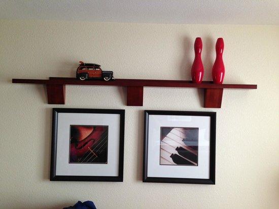 Residence Inn San Diego Rancho Bernardo/Scripps Poway: Wall frames