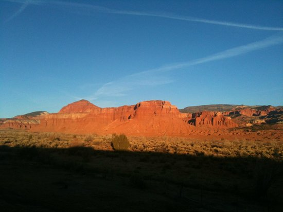 Capitol Reef Resort: View from our room