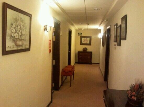 Hotel Maestranza: Pasillo