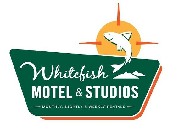 Whitefish Motel & Studios: Signage and Logo