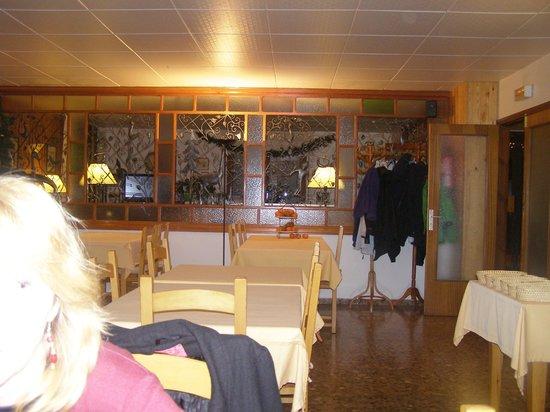 Hotel La Burna: salle a manger