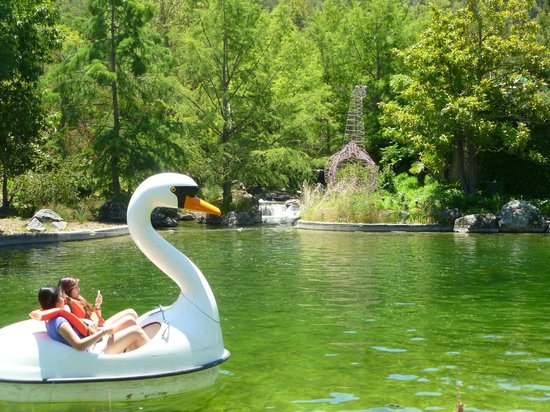 Gilroy Gardens Family Theme Park: Paddle boats