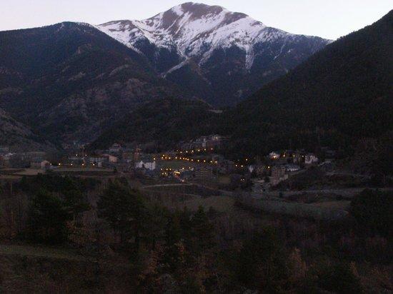 Hotel La Burna: vue de la chambre