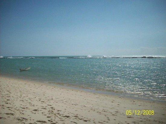 Barra de Sao Miguel, AL: Águas quentes