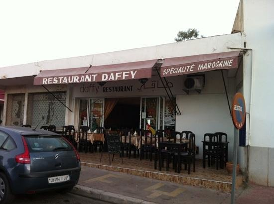 Restaurant Daffy : front look