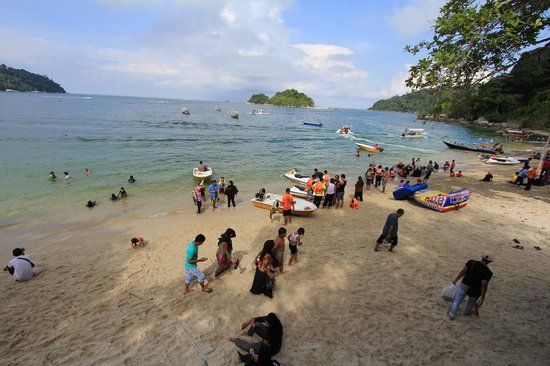 Pangkor Bay View Beach Resort: Teluk Nipah Beach