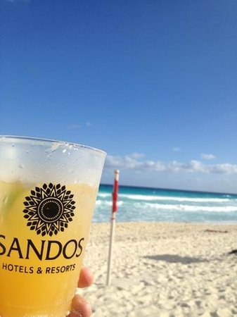 Sandos Cancun Lifestyle Resort: Stay at Sandos Cancun!