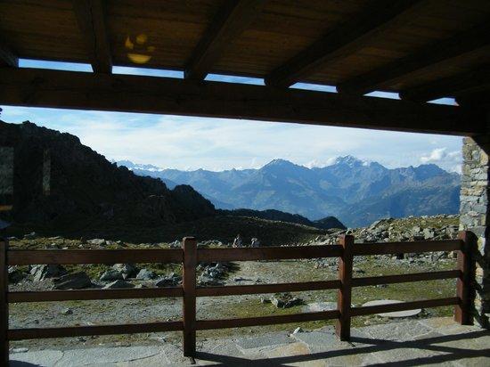 Rifugio Arbolle: Panorama