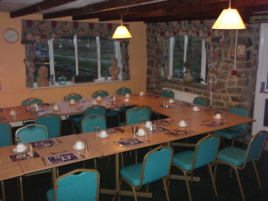 Hadrian Lodge Hotel: The dining area