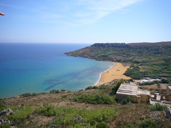 Gozo Hills Bed and Breakfast: Closest Beach