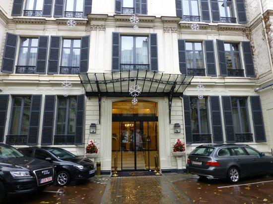 Hotel Regent's Garden: Entrance