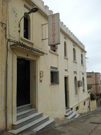 El Muniria: Hotel entrance