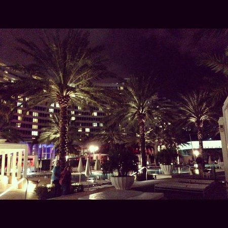 Fontainebleau Miami Beach: The resort at night