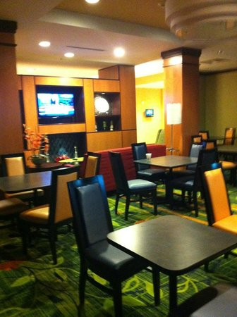 Fairfield Inn & Suites Fort Lauderdale Airport & Cruise Port: Breakfast area