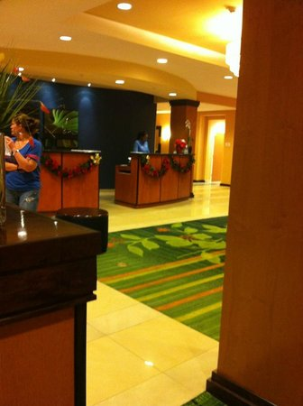 Fairfield Inn & Suites Fort Lauderdale Airport & Cruise Port: lobby