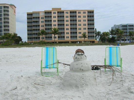 Pink Shell Beach Resort & Marina: Christmas on the beach !!