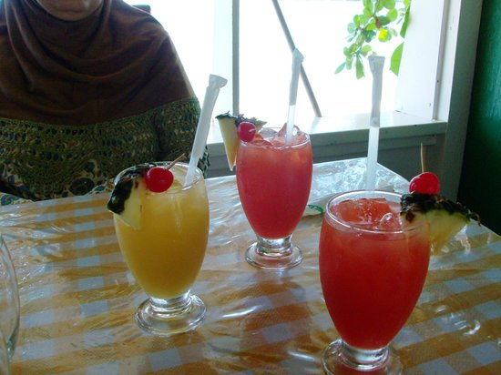 Jemma's Seaview Kitchen: Caribbean juices