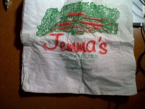 Jemma's Seaview Kitchen: Jemma's Napkin