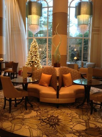 Grand Hyatt Atlanta in Buckhead : Hotel lobby