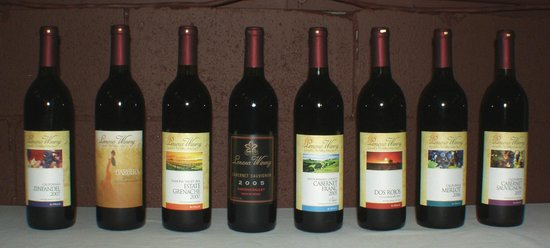Lenora Winery: A selection of our wines