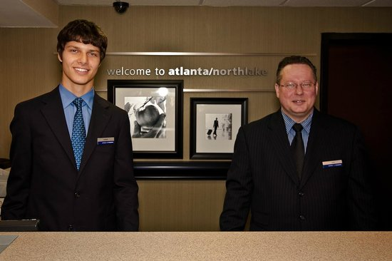 Hampton Inn Atlanta - Northlake: Friendly welcoming smiles