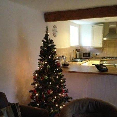 New Leaf Farm Holiday Cottages: Christmas tree Hay Barn