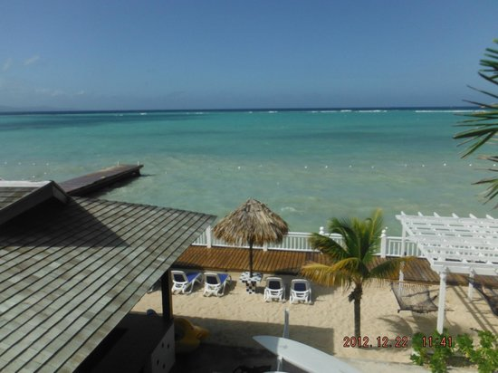 Royal Decameron Montego Beach: View from balcony