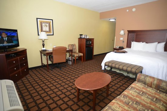Hampton Inn and Suites Lake City: King Study Room