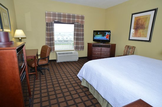 Hampton Inn and Suites Lake City: Standard King Room
