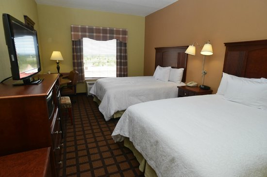 Hampton Inn and Suites Lake City: Standard Queen Room
