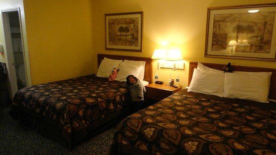 Anaheim Del Sol Inn: Nice rooms!!!