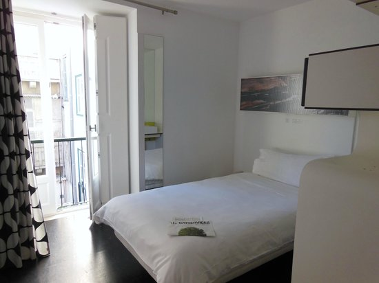 Hotel Gat Rossio : single room 3rd floor