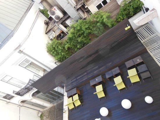 Hotel Gat Rossio: courtyard