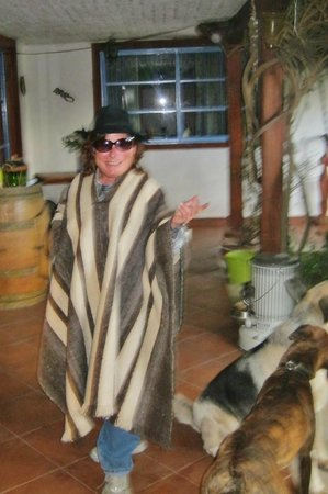 Mapuyampay Hostal Gastronomico: Me, ready to Rodeo, Chilean-style! :-)