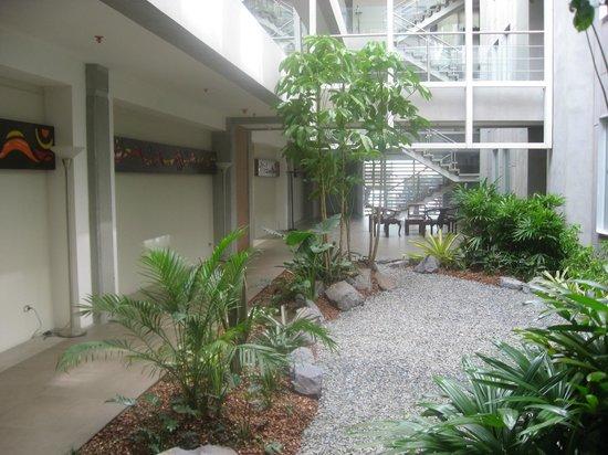 Isla Verde Hotel: jardin y alrededores