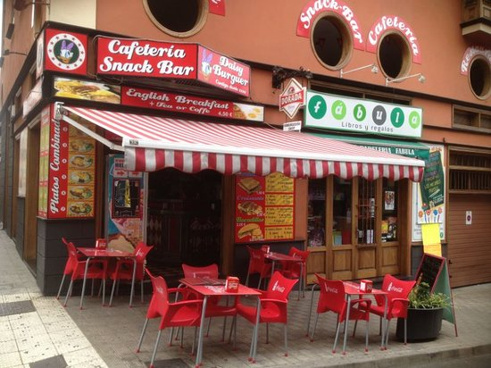Hamburgueseria Cafeteria Daisy: Fachada
