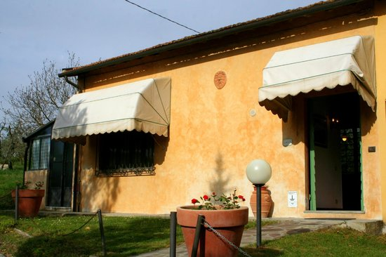 Podere Casanova: The Ginestra apartment