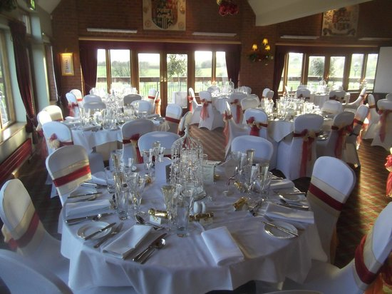 The Morley Hayes Hotel : Wedding Breakfast Decoration