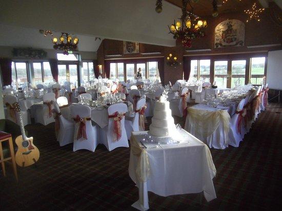 The Morley Hayes Hotel: Wedding Breakfast Decoration