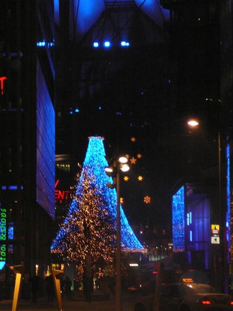 Holiday Inn Express Berlin City Centre: Kerst in Berlijn