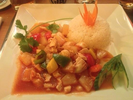 Plattform Restaurants: Chicken Sweet & Sour