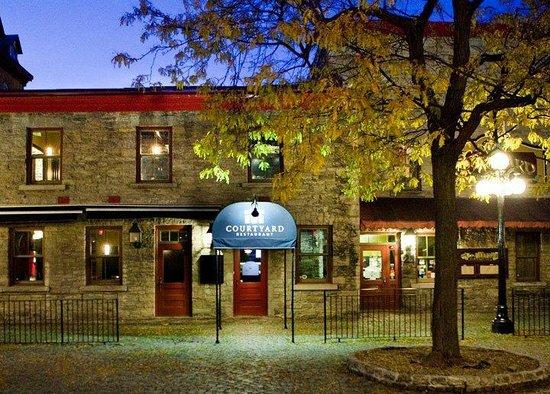Courtyard Restaurant Ottawa Byward Market Area Menu