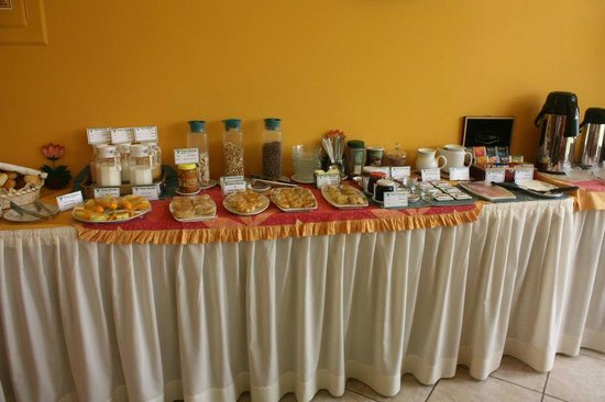 Hotel Torre Dorada: Complimentary breakfast bar at Torre Dorada... not pictured is the hot egg/omelet station