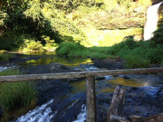 Baan E-Tu Waterfall Resort : Near the E–Tu waterfall