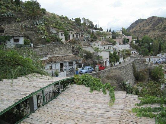 Cuevas El Abanico: view from sundeck